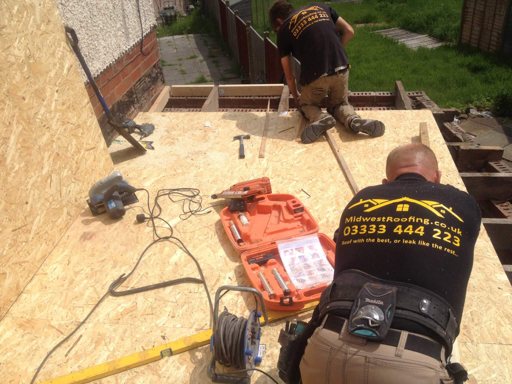 Flat Roofs Midwest Roofing Birmingham